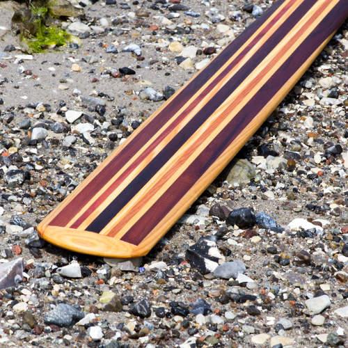 Wood oars